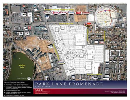 park lane promenade plans update